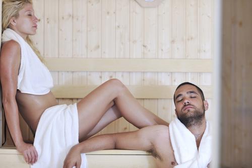 Sauna Muskelkater