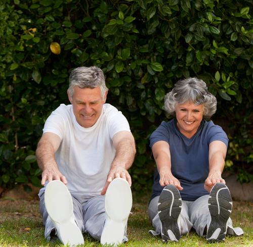 Sport für ältere Menschen