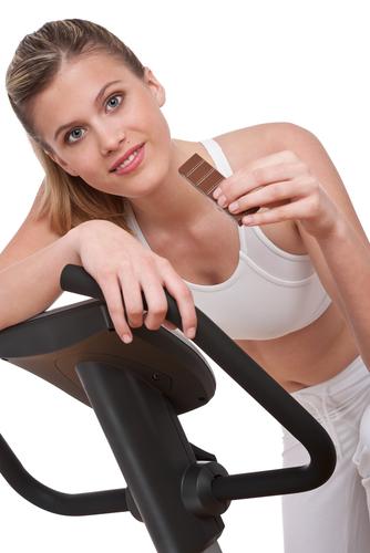 Mit ein bisschen Sport könnnn Sie auch im Winter unbeschwert Süßigkeiten naschen