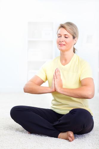 Hormon-Yoga: soll den Hormonhaushalt ins Gleichgewicht bringen