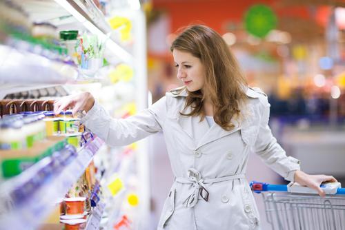 Ernährung Deutschland Supermarkt