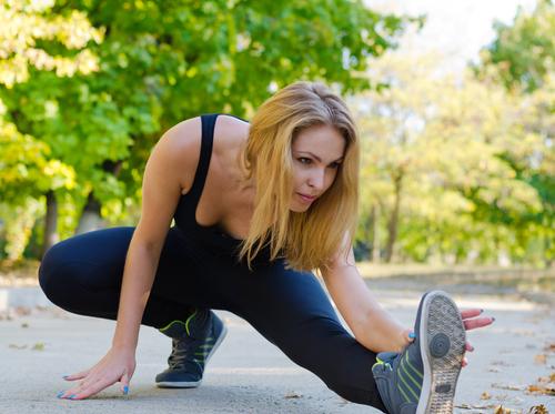 Muskeln entspannen aufwärmen