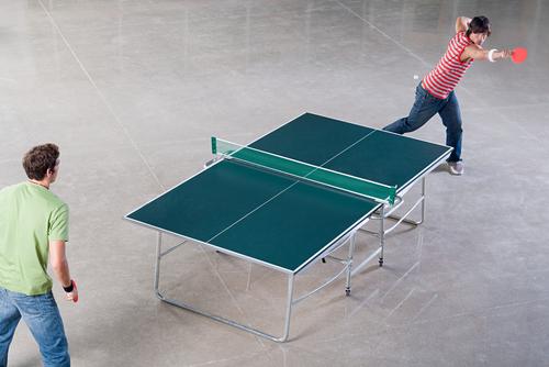 Tischtennis macht spaß und hält fit
