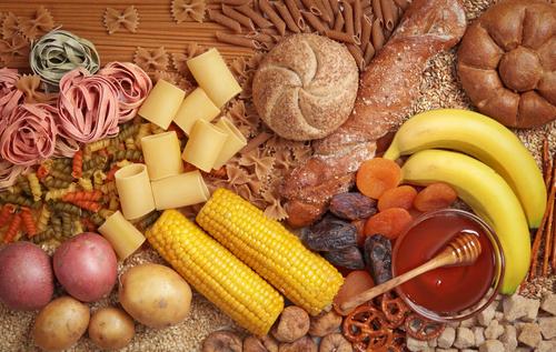 Mais, Nudeln, Getreideprodukte, Bananen, Honig