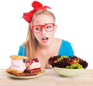 Schwere Entscheidung: Die Auswahl der gesunden Diät