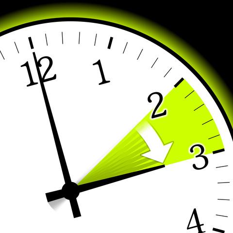 Uhr wird um eine Stunde vorgestellt