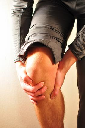 Sportverletzung im Knie