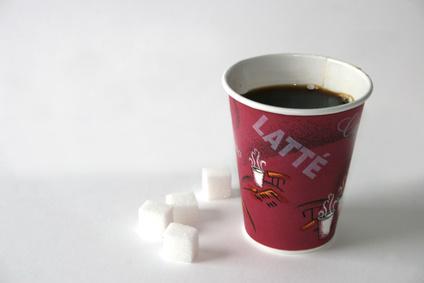 kaffee und Zucker