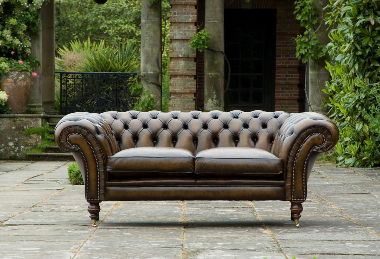 Chesterfield Sofa von Von Wilmowsky
