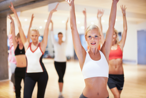 Fitness Gewichtsabnahme