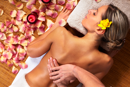 Beauty-Prozedur: Massage