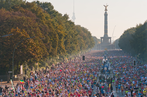 Marathon in Berlin
