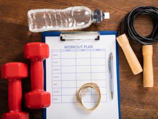 Trainingsplan für Muskelaufbau